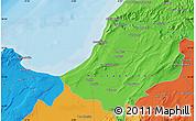 Political Map of Mostaganem