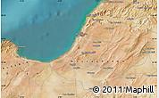 Satellite Map of Mostaganem