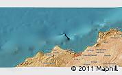Satellite 3D Map of Oran