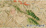Satellite Map of Lanzhou