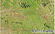 "Satellite Map of the area around 35°52'19""N,117°22'30""E"