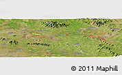 "Satellite Panoramic Map of the area around 35°52'19""N,117°22'30""E"