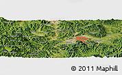 Satellite Panoramic Map of Taegu