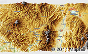 """Physical 3D Map of the area around 35°52'19""""N,137°46'30""""E"""