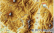 """Physical Map of the area around 35°52'19""""N,137°46'30""""E"""