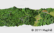 "Satellite Panoramic Map of the area around 35° 52' 19"" N, 137° 46' 30"" E"