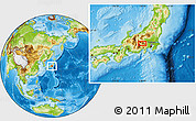 Physical Location Map of Narusawa