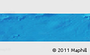 """Shaded Relief Panoramic Map of the area around 35°52'19""""N,13°31'30""""W"""