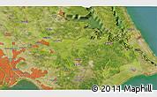 Satellite 3D Map of Nagareyama