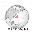 """Outline Map of the Area around 35° 52' 19"""" N, 142° 1' 30"""" E, rectangular outline"""