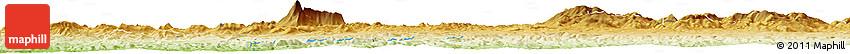 Physical Horizon Map of Mechta Beni Amou