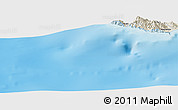 Shaded Relief Panoramic Map of Nasrettin