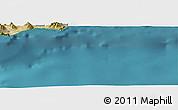 Satellite Panoramic Map of Anamur