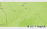 """Physical 3D Map of the area around 35°52'19""""N,41°43'30""""E"""