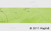 """Physical Panoramic Map of the area around 35°52'19""""N,41°43'30""""E"""