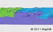 Political Panoramic Map of Bordj Bou Arreridj