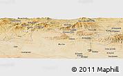 Satellite Panoramic Map of Bordj Bou Arreridj