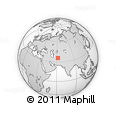"""Outline Map of the Area around 35° 52' 19"""" N, 62° 7' 30"""" E, rectangular outline"""