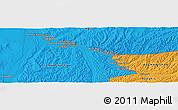 Political Panoramic Map of Mīrānzā'ī