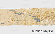 Satellite Panoramic Map of Mīrānzā'ī