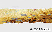 Physical Panoramic Map of Qurūqūl