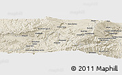 Shaded Relief Panoramic Map of Āqcheshmeh