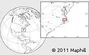 Blank Location Map of Alligator