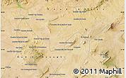 Satellite Map of El Beïda