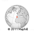 """Outline Map of the Area around 35° 52' 19"""" N, 7° 34' 30"""" W, rectangular outline"""