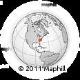 Outline Map of Biscuitville, rectangular outline