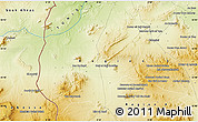 """Physical Map of the area around 35°52'19""""N,8°34'29""""E"""