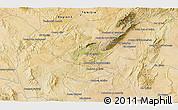 Satellite 3D Map of Siliana