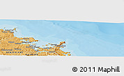 """Political Panoramic Map of the area around 35°6'5""""S,174°19'29""""E"""