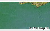 Satellite 3D Map of Maldonado