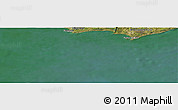 Satellite Panoramic Map of Maldonado