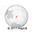 Outline Map of Ohaeawai, rectangular outline