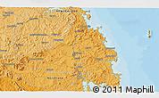 Political 3D Map of Kawakawa