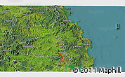 Satellite 3D Map of Kawakawa