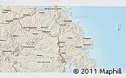 Shaded Relief 3D Map of Kawakawa