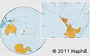 Political Location Map of Kawakawa