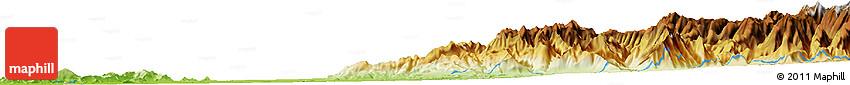 Physical Horizon Map of Talca