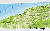 Physical 3D Map of Khadra