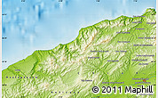 Physical Map of Khadra