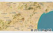 Satellite 3D Map of Zaghouan