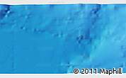 """Shaded Relief 3D Map of the area around 36°19'55""""N,10°7'30""""W"""