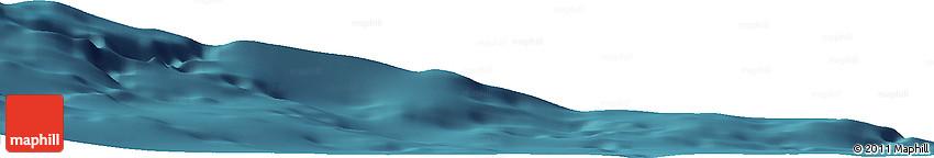 "Satellite Horizon Map of the Area around 36° 19' 55"" N, 10° 58' 29"" W"
