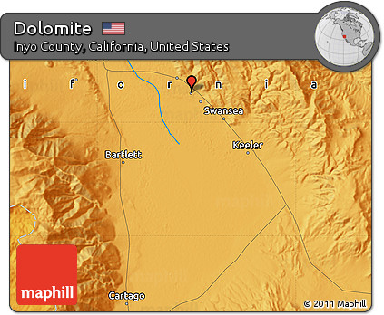 Free Political Map of Dolomite on