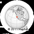 Outline Map of 3338 E Birch Ct, rectangular outline