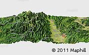"Satellite Panoramic Map of the area around 36°19'55""N,137°46'30""E"
