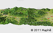"Satellite Panoramic Map of the area around 36° 19' 55"" N, 138° 37' 30"" E"